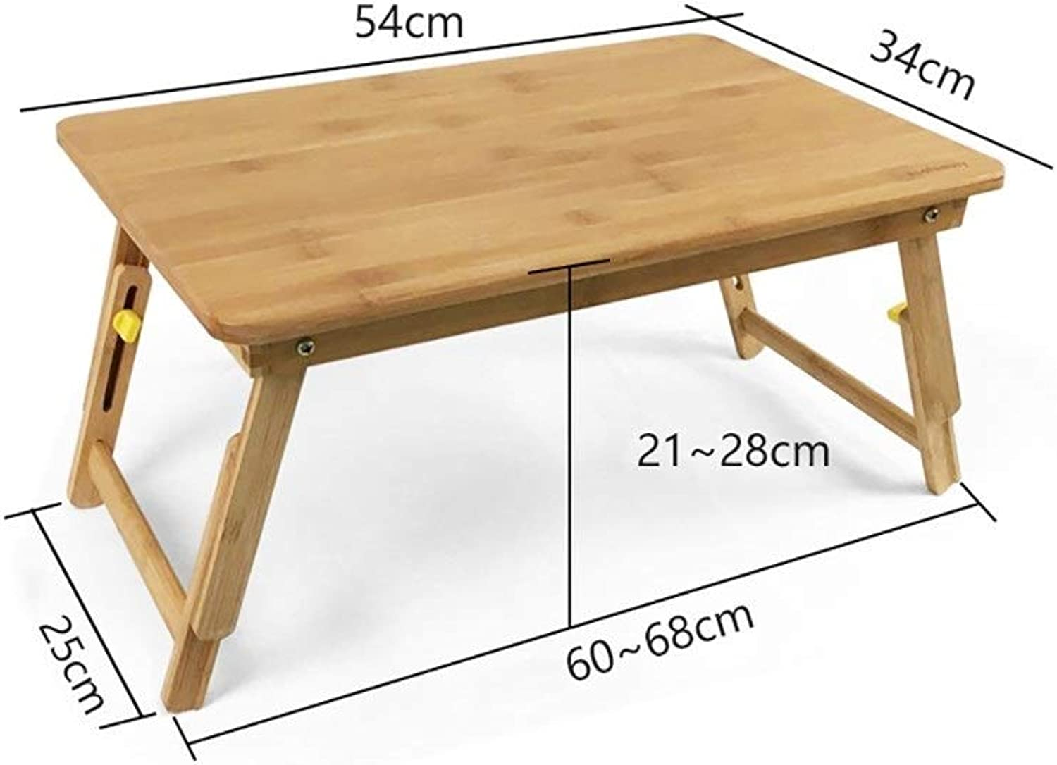 Laptop Table Solid Wood Collapsible Lift Computer Desk, Easy Learning Desk, Multi-Functional Desk, Support (Size   14 )