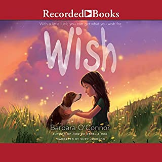 Wish                   By:                                                                                                                                 Barbara O'Connor                               Narrated by:                                                                                                                                 Suzy Jackson                      Length: 4 hrs and 41 mins     387 ratings     Overall 4.8