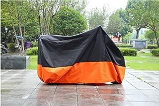 Black & Orange Motorcycle Cover for Honda Shadow Aero RS Phantom Sabre UV Dust Prevention XL