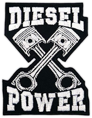 Aufnäher Aufbügler Patch Diesel Power