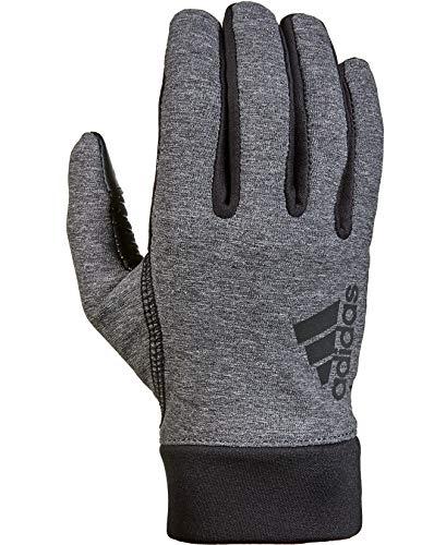 adidas Sevorn Running Gloves, Heather Gray - Large/X-Large