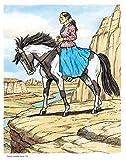 Zoom IMG-2 wonderful world of horses coloring