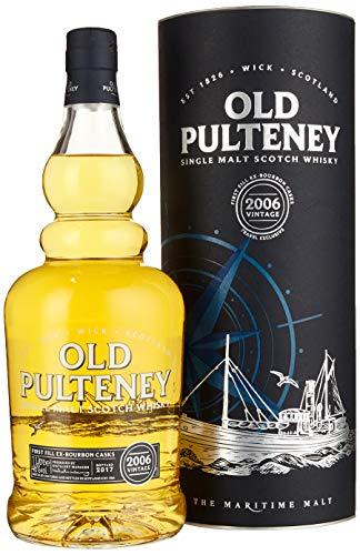 Old Pulteney VINTAGE The Maritime Malt mit Geschenkverpackung 2006 Whisky (1 x 1 l)