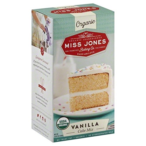 Miss Jones Baking Co, Cake Mix, Og2, Vanilla, Pack of 6, Size - 15.87 OZ, Quantity - 1 Case6