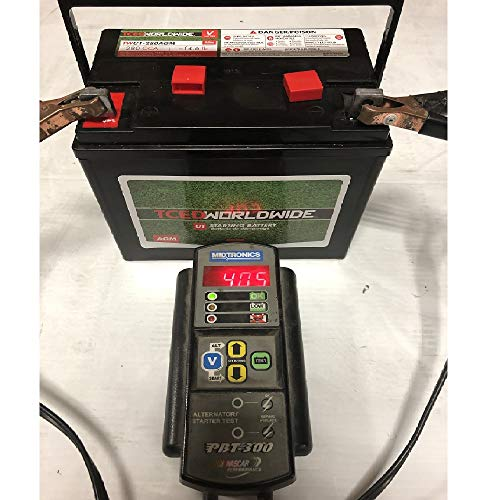 AGM Battery for John Deere L130 Riding Lawn Mower Garden Tractor 1yr Warranty