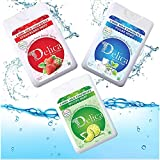 Delica Mouth Spray (Strawberry , Polar Mint, Mojito Mint, Assorted Pack of 3)