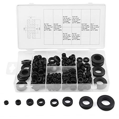 Wasmachine-afdichting - 180 stuks elektrische afdichting sluitring rubber draadring assortiment