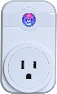 Wifi Smart Plug, Wireless Outlet Smart Timing Socket Compatible with Alexa Timing Function, Remote Control Your Devices Anywhere