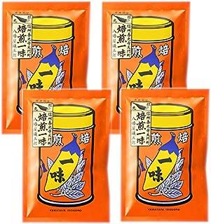 八幡屋礒五郎 信州善光寺大門町 一味唐辛子 袋入15g×4袋セット