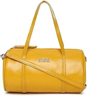 KLEIO Small Round Cross-Body Side Sling Hand Bag for Girls Women