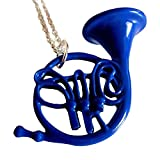 My Party Shirt Blue French Horn Necklace How I Met Your Mother Ted Mosby Pendant Chain HIMYM TV