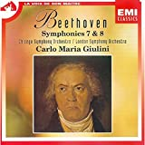 Giulini: Beethoven;Symphonies 7&8 (Audio CD)