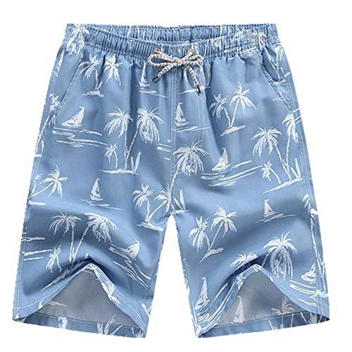 N\P Traje de baño para hombre de secado rápido pantalón corto 4XL verano surf deportes playa tabla troncos sueltos más tamaño pantalón