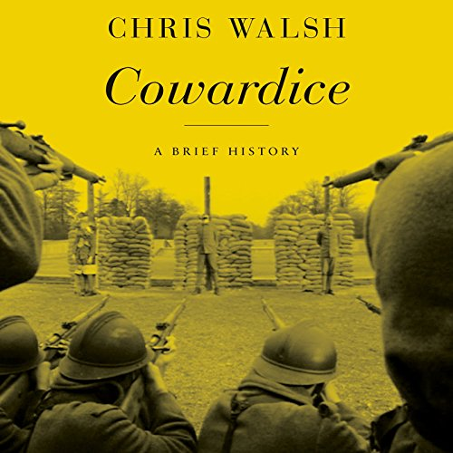 Cowardice audiobook cover art