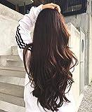 VeSunny Half U Wigs Remy Human Hair One Piece 12inch 100g #4 Dark Brown Brazilian Human Hair Vlip in U Part Wigs for Women Short Straight