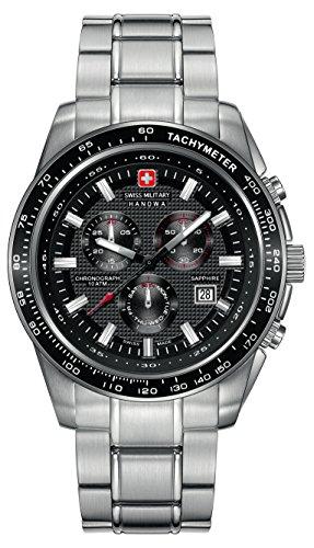 INTELIHANCE. 6-5225.04.007 - Reloj de Cuarzo para Hombre, con Correa de Acero Inoxidable, Color Plateado