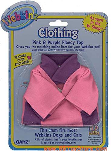 Webkinz Pink & Purple Fleecy Top