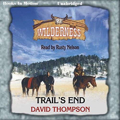 Trail's End audiobook cover art