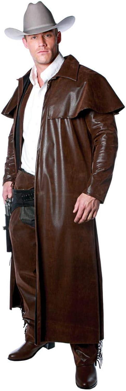 a la venta Horror-Shop Vaquero Abrigo Abrigo Abrigo marrón XXL  excelentes precios