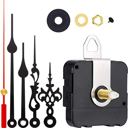 Meccanismo per il movimento dell'orologio al quarzo , più 2 set di lancette e parti di ricambio per la riparazione