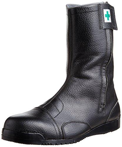 [ノサックス] 安全靴 高所用JIS規格 みやじま鳶半長靴 M208 メンズ 黒 30cm(30cm)