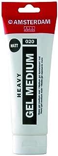 Amsterdam Heavy Gel Medium Matte 250Ml