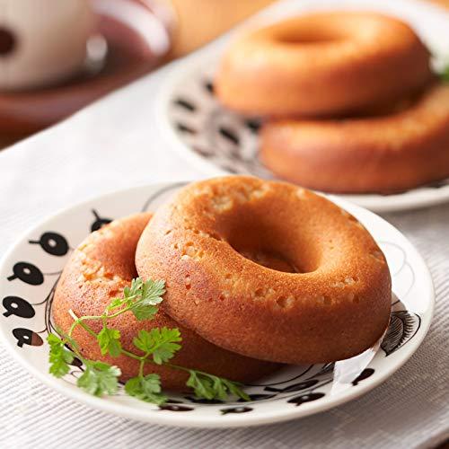 低糖質 焼きドーナツ プレーン 5個 糖質オフ 糖質制限 低糖パン 低糖質パン 糖質 食品 糖質カット 健康食品...