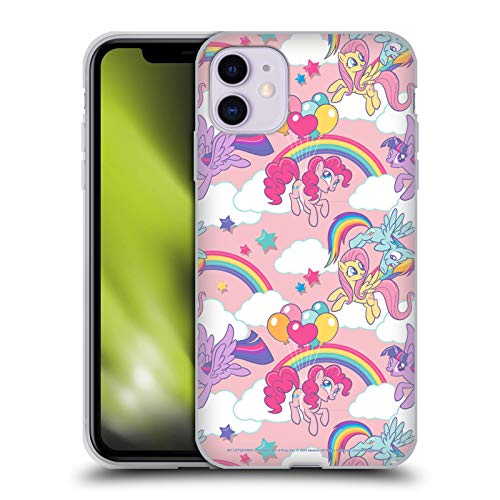 Head Case Designs Officially Licensed My Little Pony Rainbow Candy Clash Soft Gel Case Compatible with Apple iPhone 11