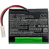 Cameron sino - Batteria di ricambio per Vorwerk Folletto VR100, Folletto VX100, 7,4 V, Li-ion 4500 mAh/33,30 Wh nero