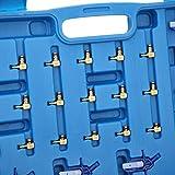 ディーゼル インジェクター フロー テスト ツール キット、ABS + ステンレス鋼材、燃料噴射サービス キット、カー アクセサリー