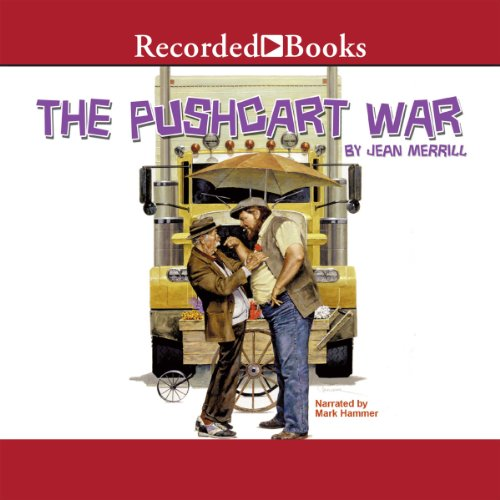 The Pushcart War audiobook cover art