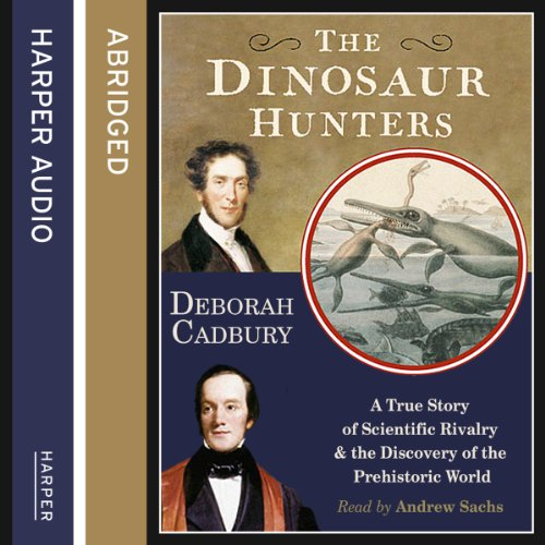 The Dinosaur Hunters audiobook cover art