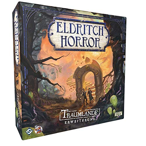 Eldritch Horror - Traumlande - Erweiterung Brettspiel | DEUTSCH | Lovecraft Horror