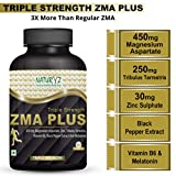 Naturyz Triple Strength ZMA Plus, Sports recovery & Sleep support supplement with 450mg