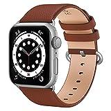 Fullmosa kompatibel mit Apple Watch Armband 40mm 38mm 44mm 42mm, Lederband Ersatzband für Damen...