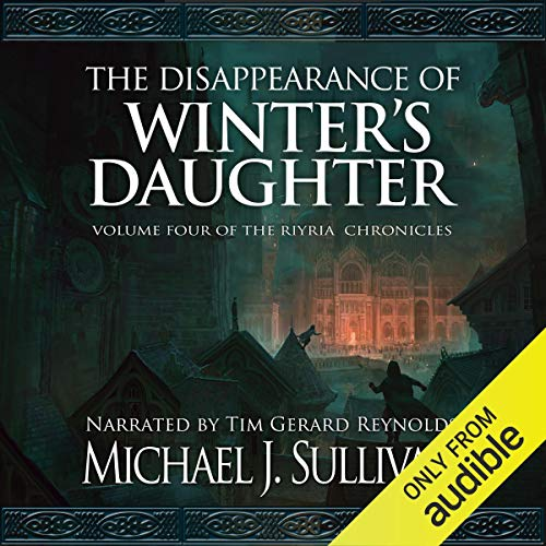 The Disappearance of Winter's Daughter Audiobook By Michael J. Sullivan cover art