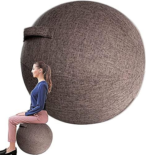 Nuiik-C22x Cubierta de sillas de Bola de Equilibrio/Silla de Bola para Oficina/Bola de Yoga Bola a Prueba de explosiones / 55/65/75 cm/Entrenamiento Muscular en casa Fitness