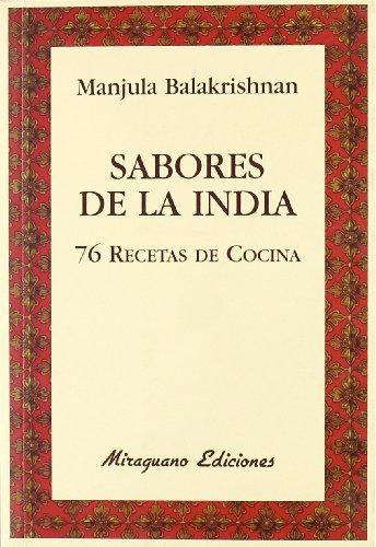 Sabores de la India. 76 recetas de cocina (Sugerencias)