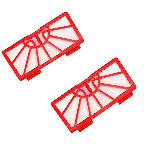HQRP 2-Pack Filters for Neato XV-11, XV-12, XV-15 Robotic Vacuums Coaster