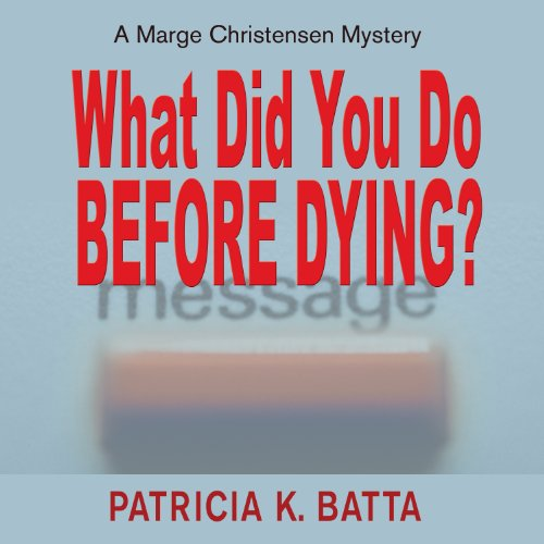 What Did You Do Before Dying? audiobook cover art