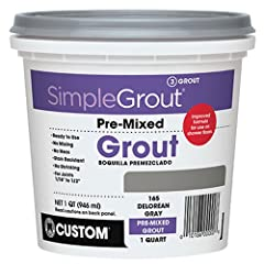 Premixed ready to apply Stain resistant Crack and shrink resistant For grout joints from 1/16-Inch to 1/2-Inch width Excellent for grout restoration Note: Packaging may vary