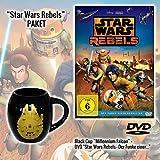 Star Wars Rebels - Der Funke einer Rebellion DVD + Star Wars Tasse