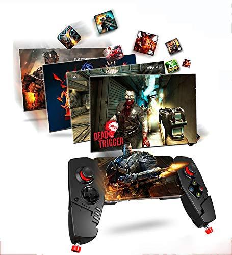 THDFV Pad Gamepad, Juego Bluetooth, Tableta y teléfono Inteligente compatibles, para Android, Controlador de Juegos para fútbol/Baloncesto/Aventura/Tiro/Juegos competitivos
