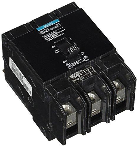 Siemens BQD320 20-Amp Three Pole 480Y/277V AC 14KAIC Bolt in Breaker, COLOR