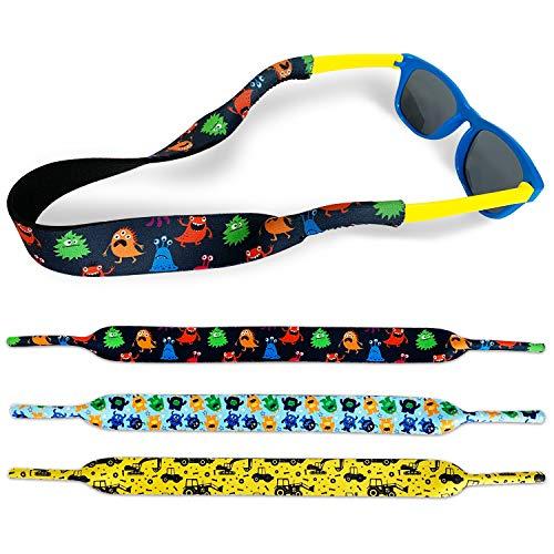Kids Eyewear Retainer, No-Tail Adjustable Glass...