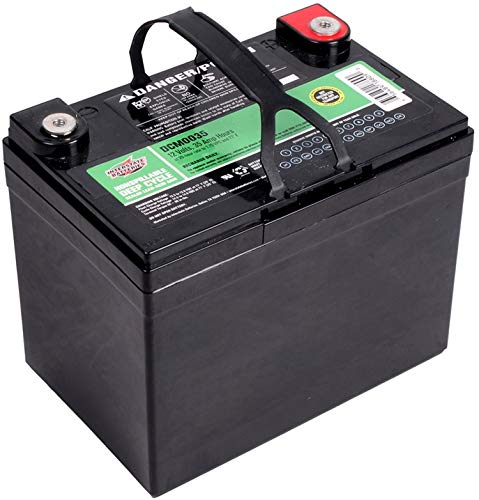 Interstate Batteries 12V 35AH Sealed Lead Acid (SLA) AGM Deep Cycle Battery
