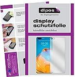 dipos I 2X Schutzfolie klar kompatibel mit Huawei P40 Pro Plus Folie Bildschirmschutzfolie (bewusst Kleiner als das Glas, da Dieses gewölbt ist)