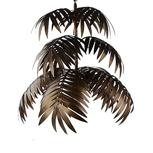 L.J.JZDY Araña Luz Pendiente del árbol de Coco Deco LED E27 Creativa Moderna lámpara Colgante for la Sala del Restaurante del Dormitorio Lobby Bar del Hotel Colgante Ligera