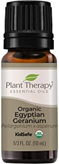 Plant Therapy Organic Egyptian Geranium Essential Oil 100% Pure, USDA Certified Organic, Undiluted, Natural Aromatherapy, ...