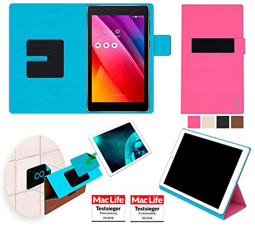 reboon Hülle für Asus Zenpad 8.0 Z380M Tasche Cover Hülle Bumper | in Pink | Testsieger